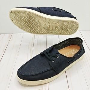 Toms Shoes - TOMS | Men's Black Culver Boat Shoes